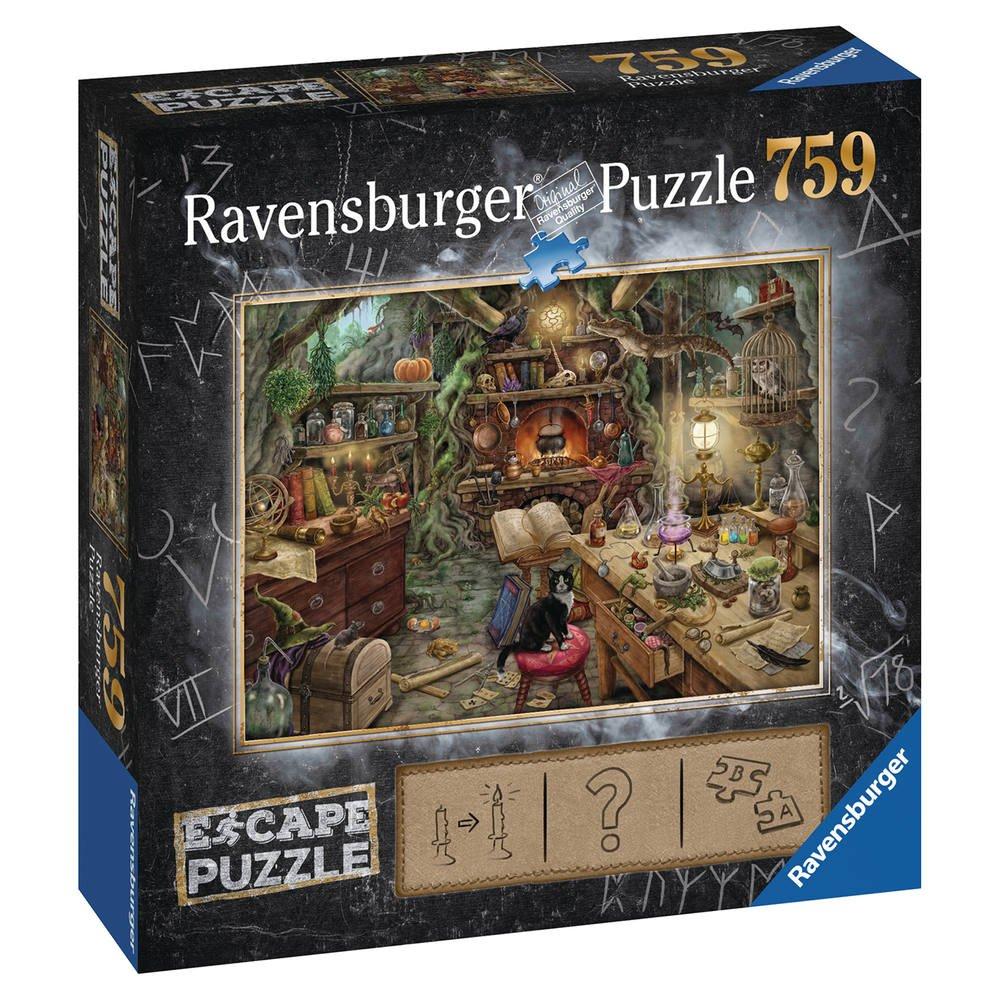 Escape Puzzle 759 Pieces Cuisine De Sorcière | Puzzle | Jouéclub serapportantà Jouer Aux Puzzles Gratuitement