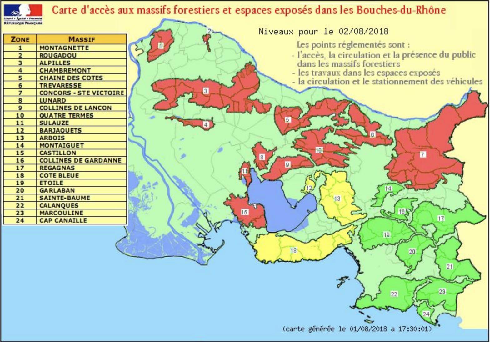 Espaces Naturels - Soyonsvigilants - Les Actus – Site Du avec Département 13 Carte