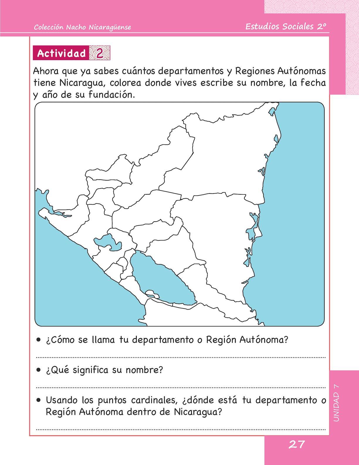 Estudios Sociales 2 Grado - Calameo Downloader encequiconcerne Nombre De Region