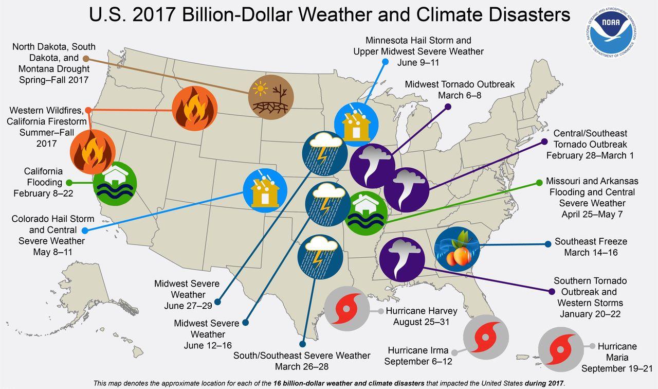 Etats-Unis : En 2017, Les Catastrophes Naturelles N'ont serapportantà Jeux De Catastrophe Naturel Gratuit