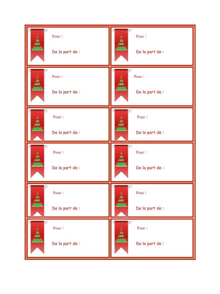 Etiquette Noel Par Jean Fxp - Etiquettes-Noel-A-Imprimer tout Etiquette Noel À Imprimer