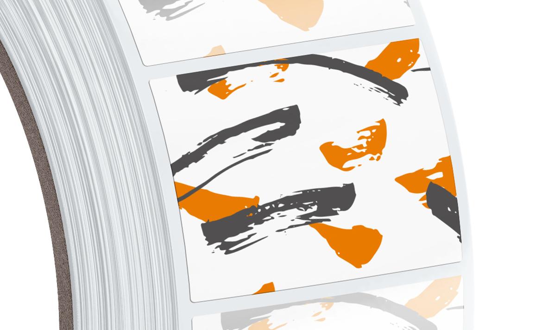 Étiquettes Adhesives En Rouleau dedans Etiquette Chiffre A Imprimer