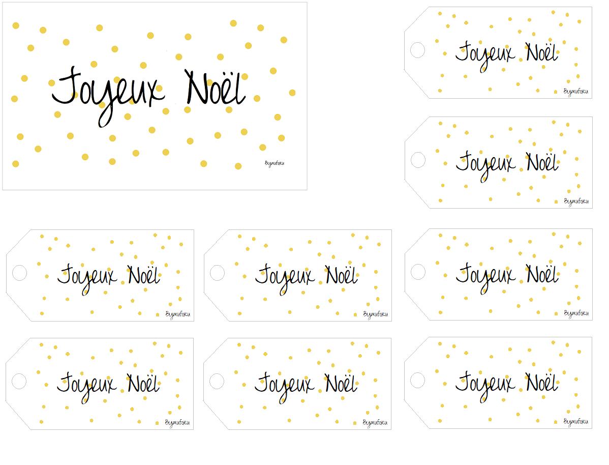 Étiquettes Cadeaux Noël - Bymuforu concernant Etiquette Cadeau Noel A Imprimer Gratuitement