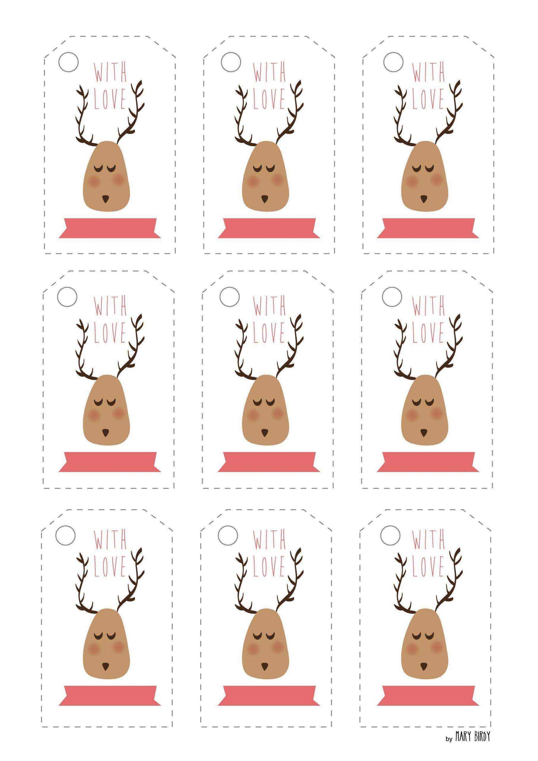 Étiquettes De Noel À Imprimer | Marybirdy pour Etiquette Noel À Imprimer
