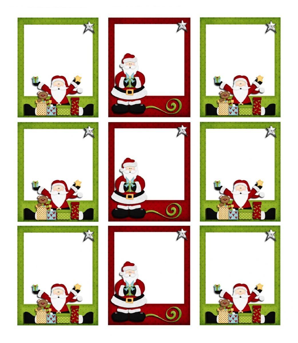 Étiquettes De Noël À Imprimer Pour Les Cadeaux À Offrir à Etiquette Pour Cadeau De Noel