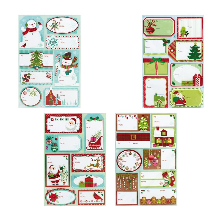Etiquettes De Noël Pour Cadeau destiné Etiquette Pour Cadeau De Noel