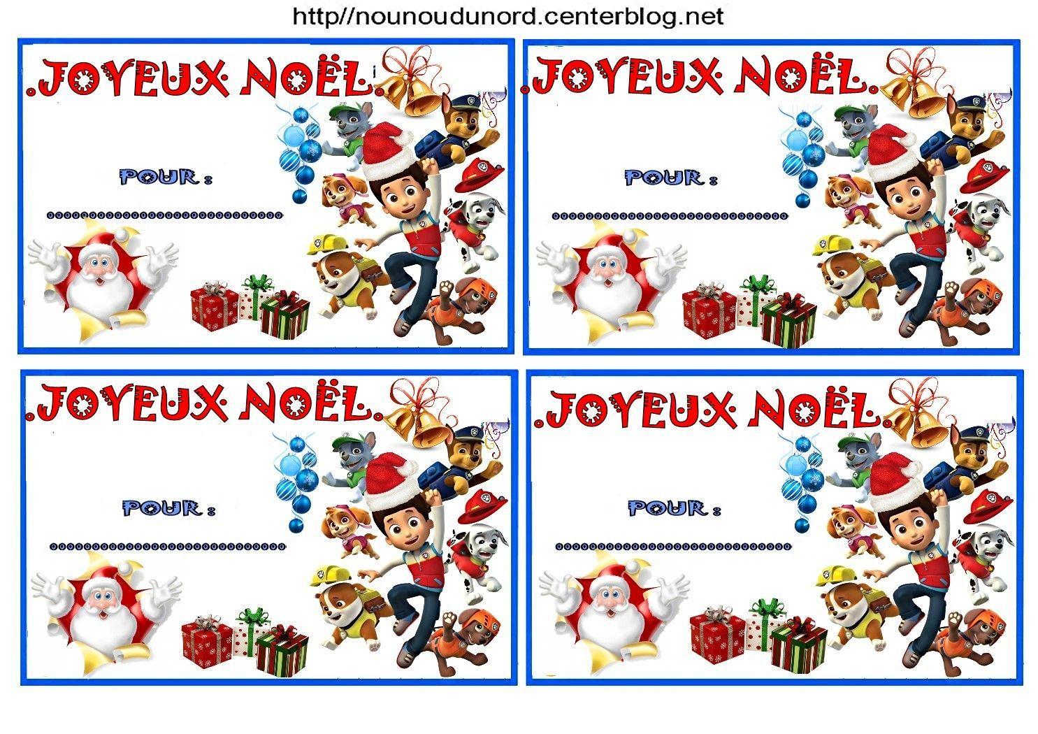 Etiquettes Noël Patpatrouille,jackpirates,minion,harrypotter serapportantà Etiquette Cadeau Noel A Imprimer Gratuitement