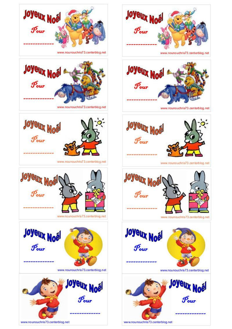 Etiquettes Noel serapportantà Etiquette Cadeau Noel A Imprimer Gratuitement