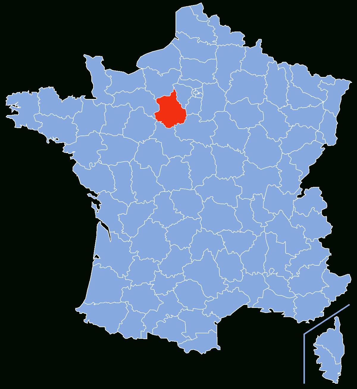 Eure-Et-Loir — Wikipédia serapportantà Les Nouvelles Régions De France Et Leurs Départements