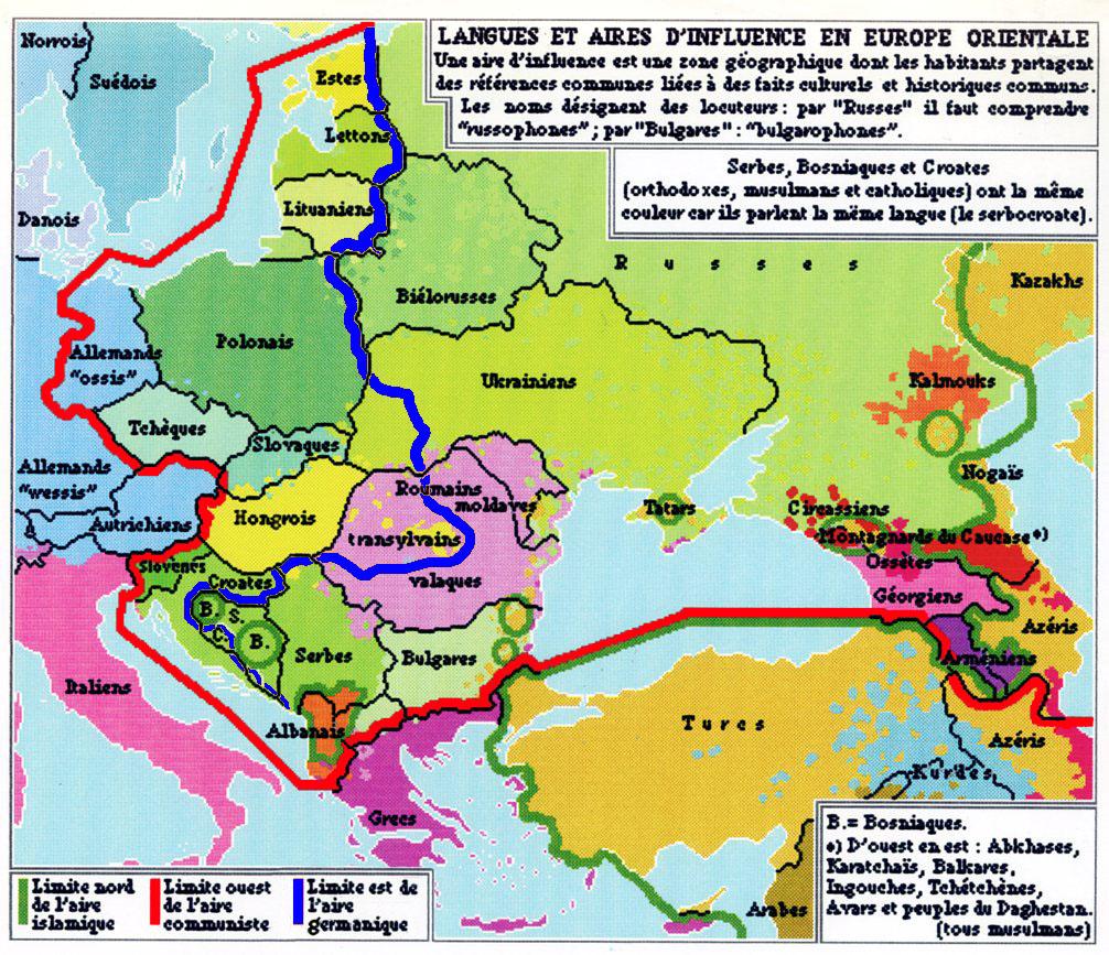 Europe Médiane — Wikipédia encequiconcerne Tout Les Pays D Europe