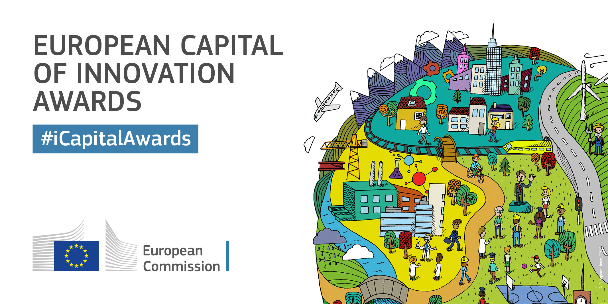 European Capital Of Innovation Award 2019 : Lyon encequiconcerne Capitale Union Européenne