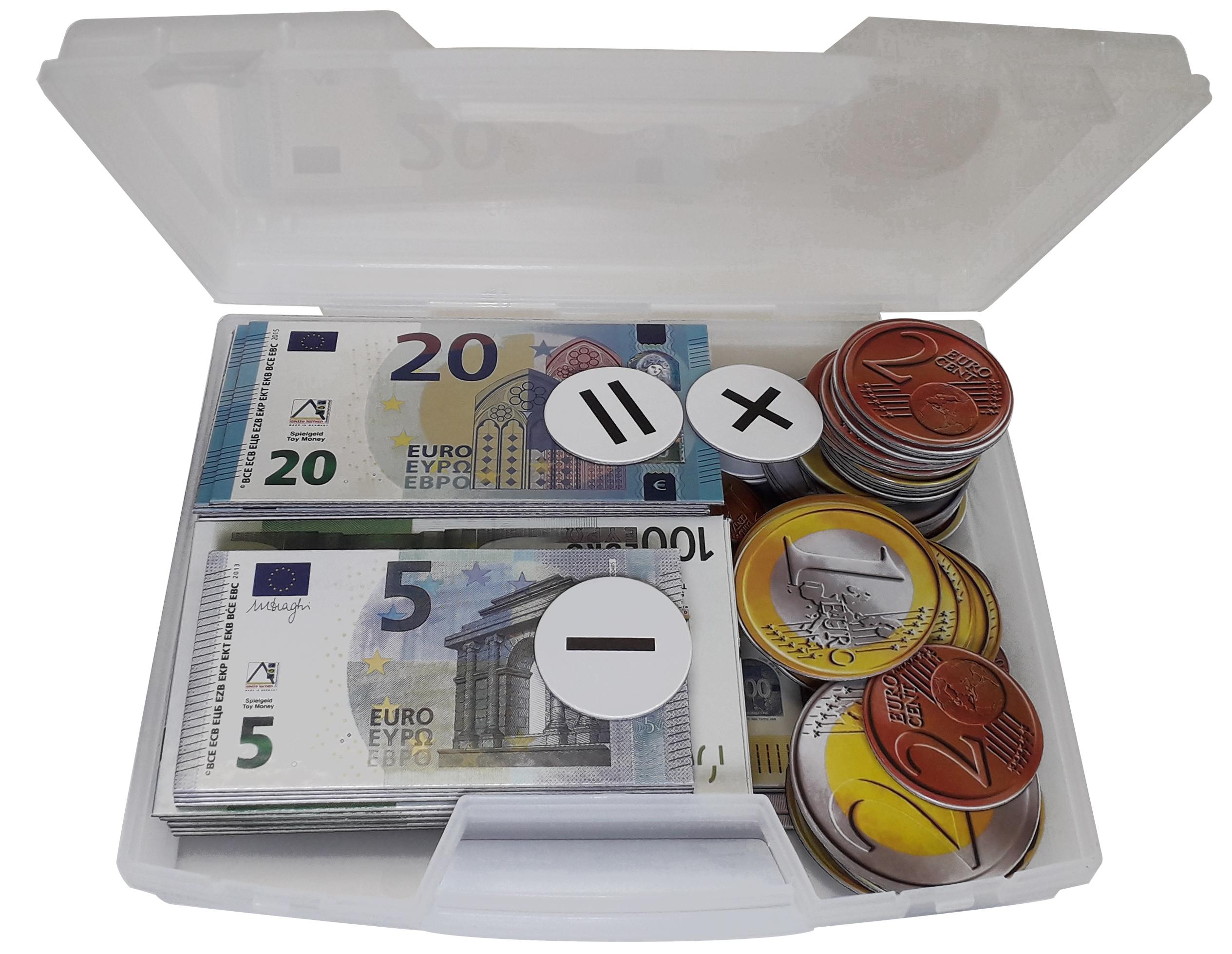 Euros Magnétiques - 6177 avec Pièces Et Billets En Euros À Imprimer