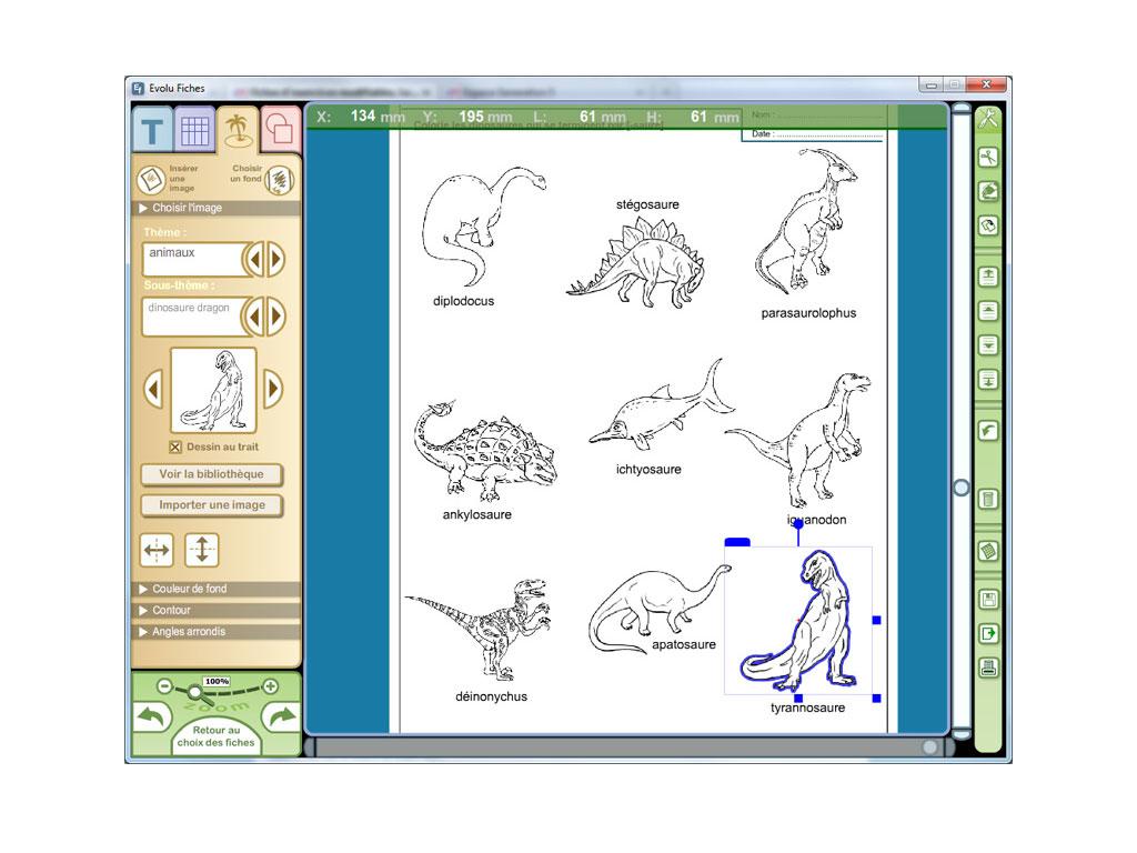 Evolu Fiches - Activités Autour Des Dinosaures tout Sudoku Maternelle À Imprimer