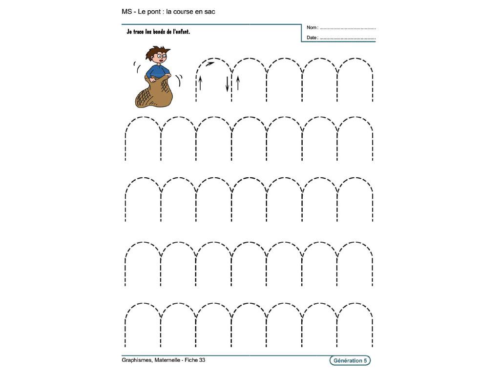 Evolu Fiches - Graphismes En Maternelle intérieur Exercice Grande Section Maternelle Gratuit En Ligne
