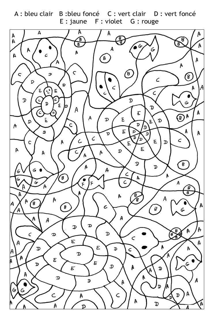 Exceptionnel Gs Coloriage Magique Noel Ms Lettres Grande à Coloriage Codé Gs