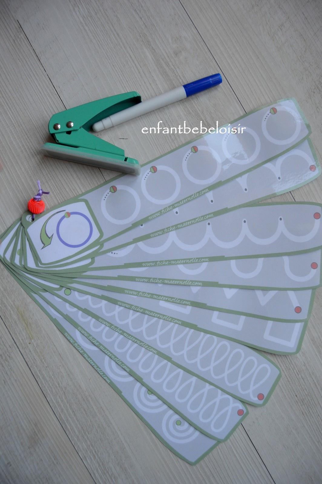 Exercice De Tracer 2 - À Imprimer Plastifier - Enfant Bébé pour Exercice Maternelle Moyenne Section À Imprimer