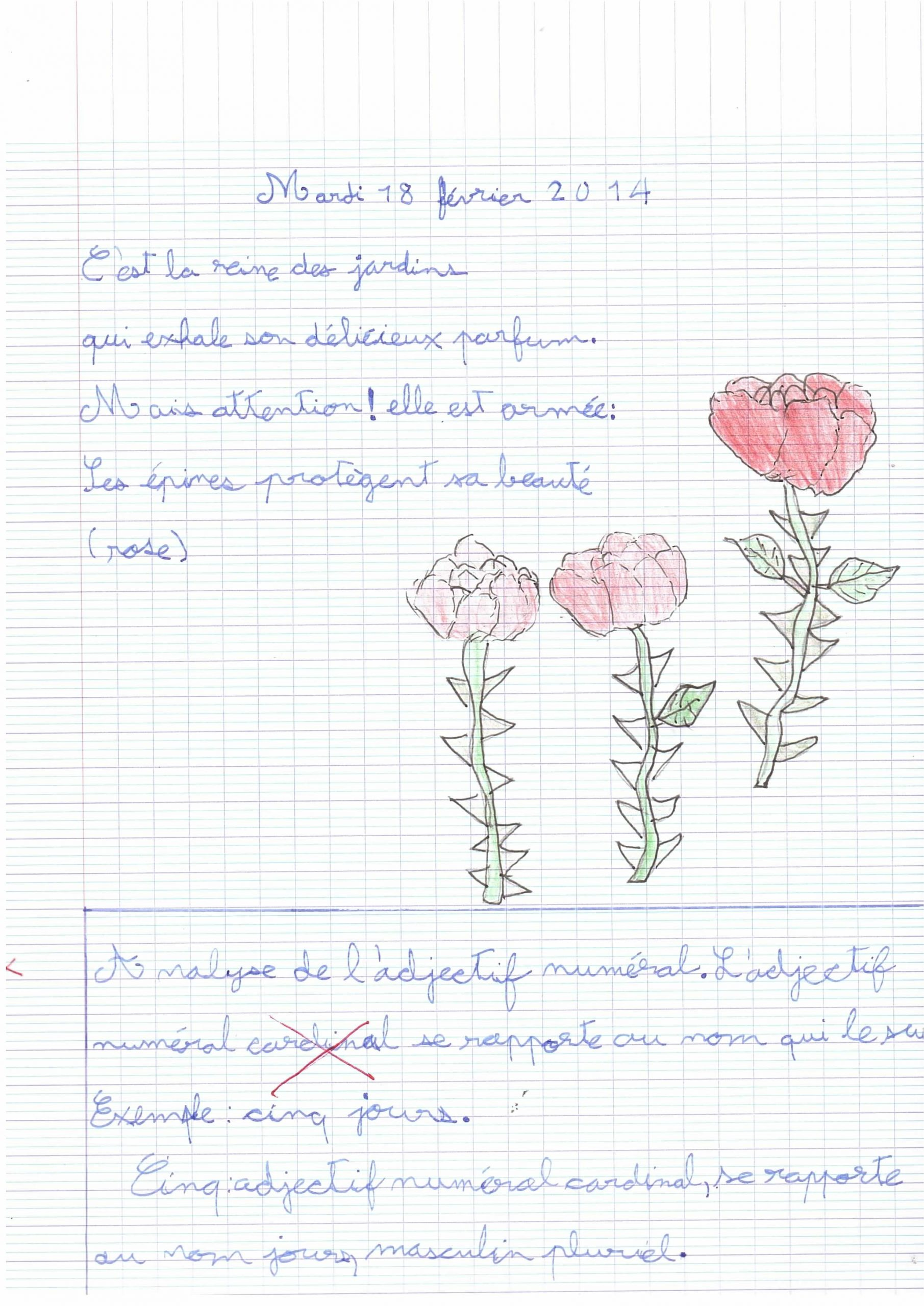 Exercice D'écriture Cm1 | Grandir Près Du Châtaignier serapportantà Exercice D Écriture Ce2