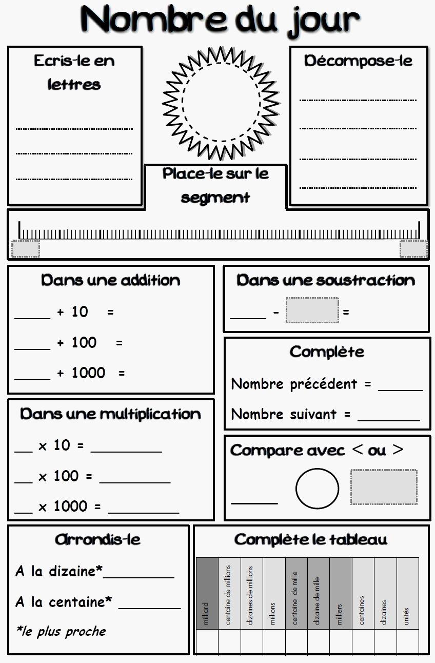 Exercices De Maths Cm1 À Imprimer Gratuit Myriam Jelassi Myr dedans Exercice Cm1 Gratuit