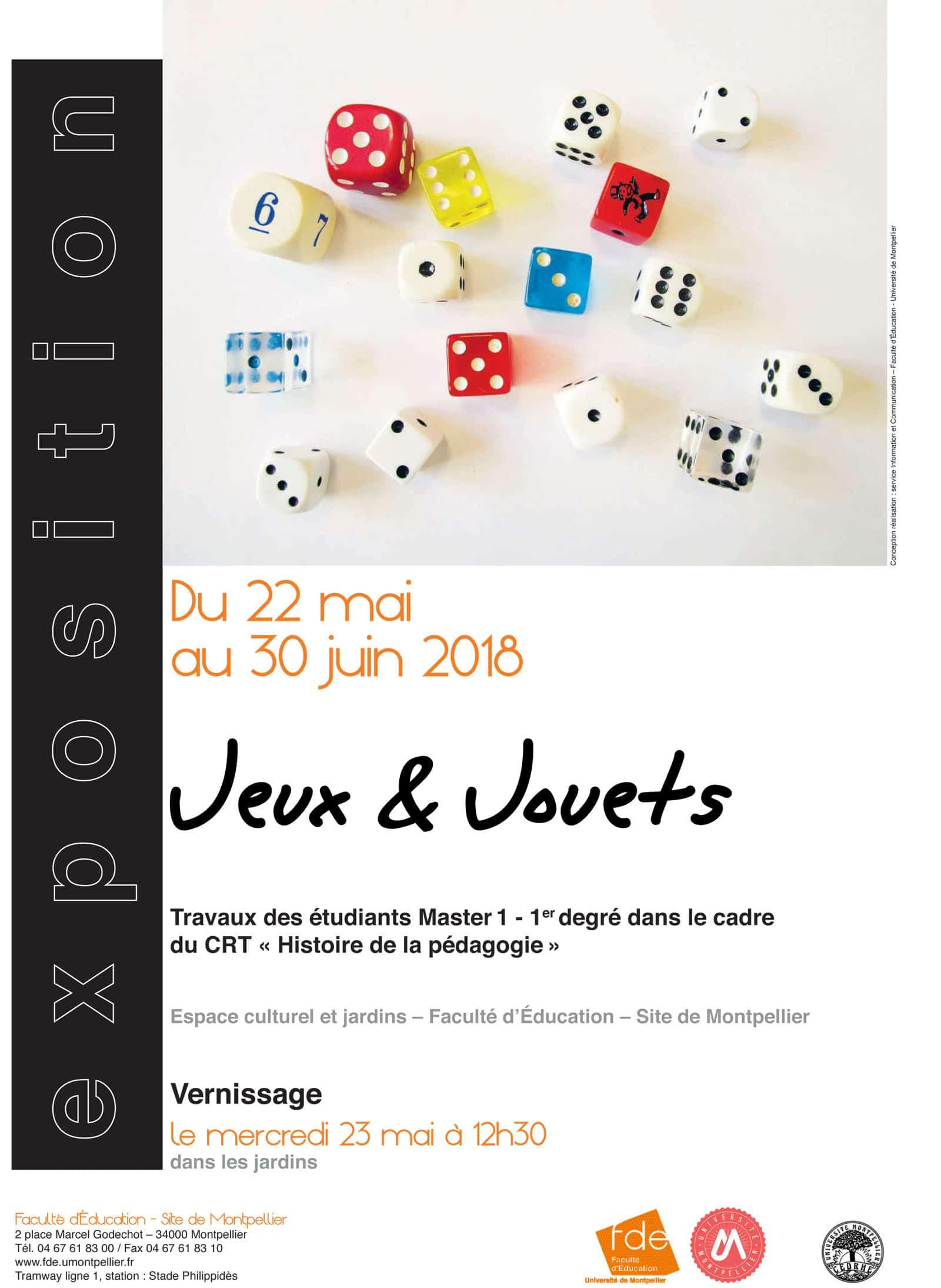Exposition « Jeux Et Jouets » – Université De Montpellier pour Jeux Pédagogiques En Ligne