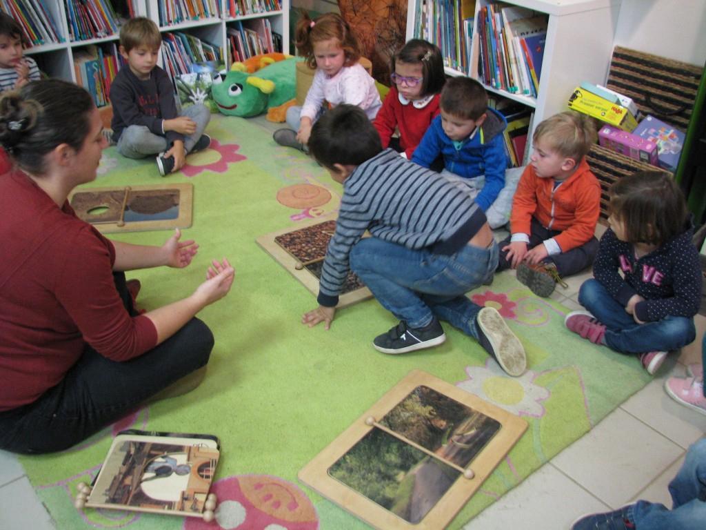 Exposition « Le Tout Petit Jeu » Anne Letuffe – Ecole intérieur Jeux Tout Petit