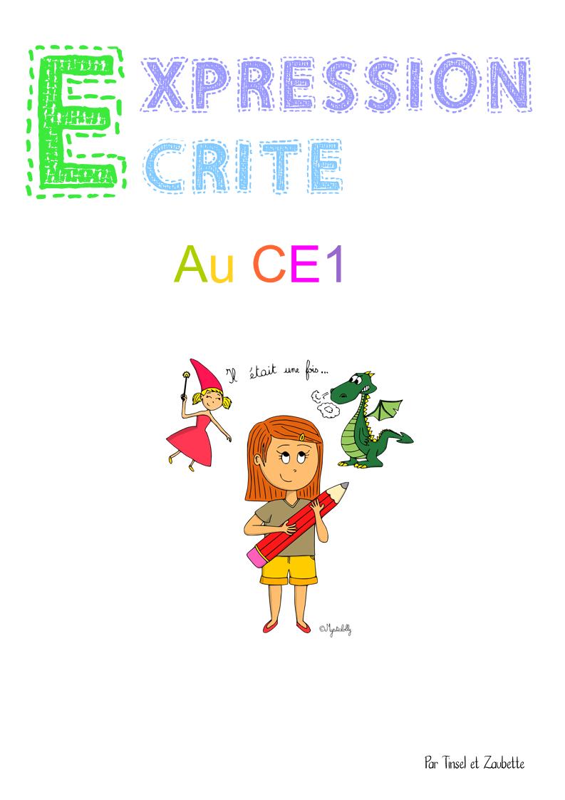 Expression Écrite Ce1 - Zaubette pour Fiche Français Ce1 Imprimer