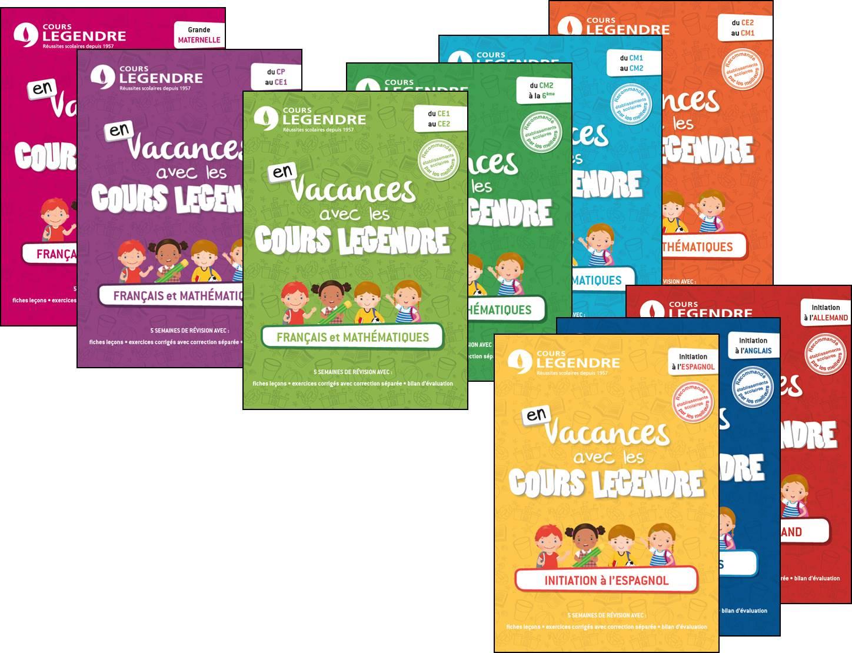 Extraits Des Éditions Legendre | Cours Legendre intérieur Cahier De Vacances Maternelle Pdf