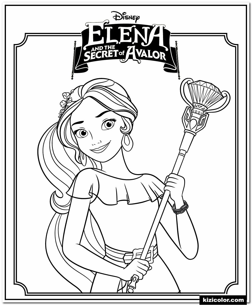 🎨 Elena Et Le Secret De La Princesse Disney Avalor - Des destiné Coloriage Dora Princesse