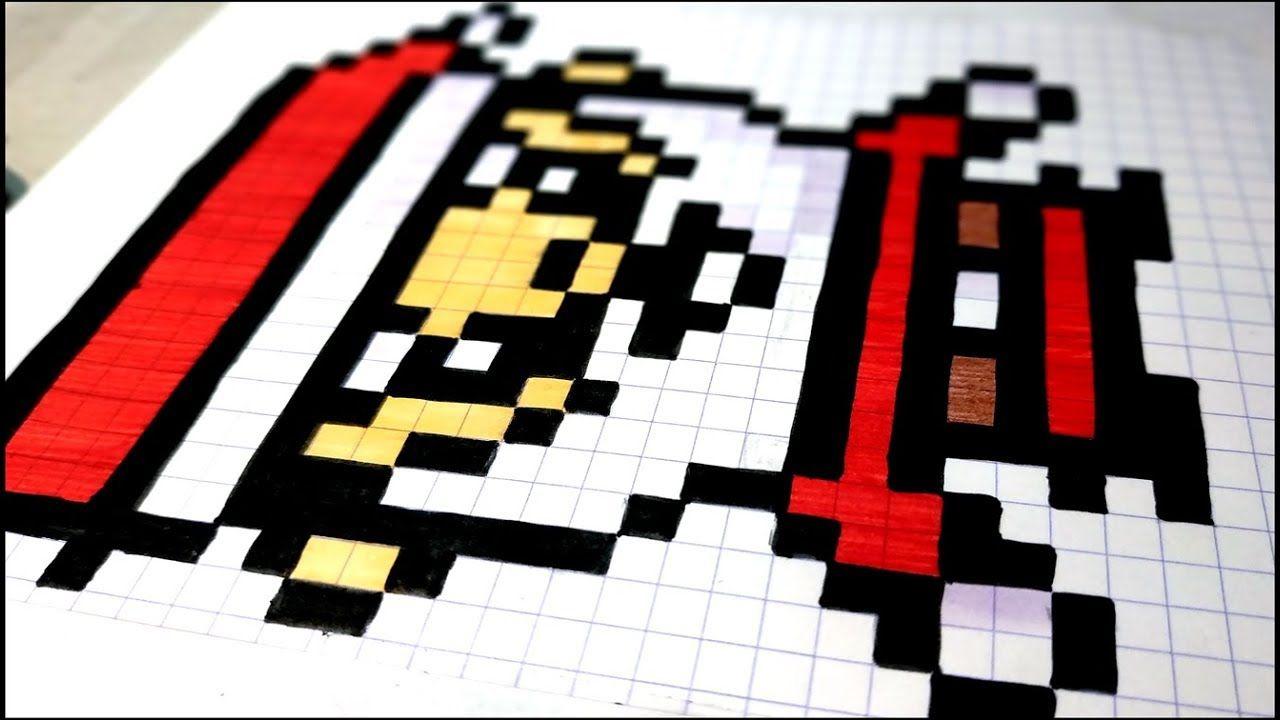 🔴 Comment Dessiner Un Pere Noel En Pixel Art #asmr avec Pixel Art Pere Noel