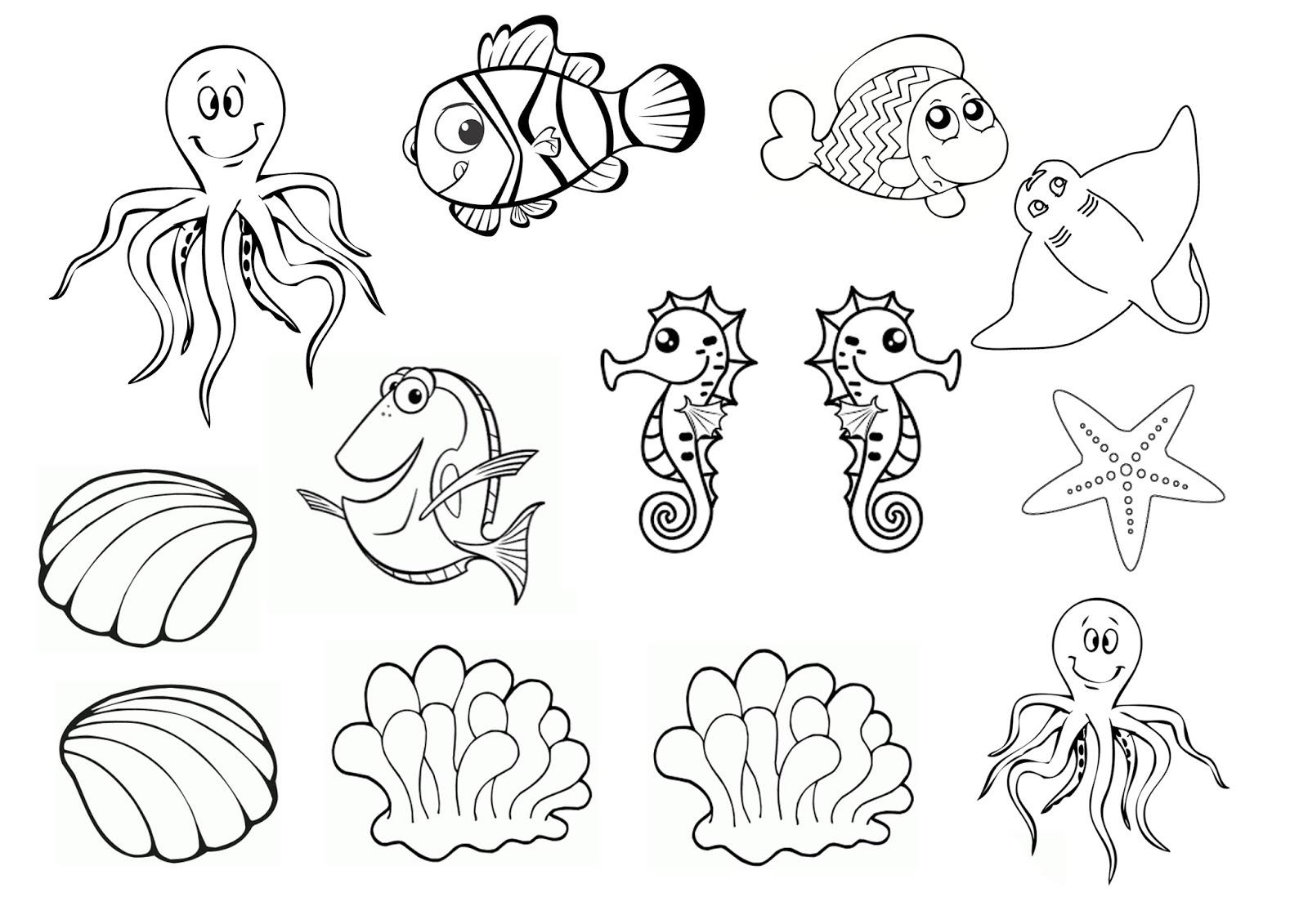 Fabrique Un Aquarium En Carton ! - La Quiche Et Ses Lardons tout Activités Maternelle À Imprimer