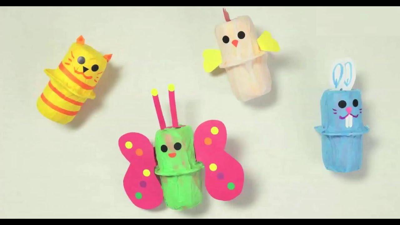 Fabriquer Des Maracas Animaux. Bricolage De Carnaval Pour Enfant. intérieur Activité Manuelle Enfant 4 Ans