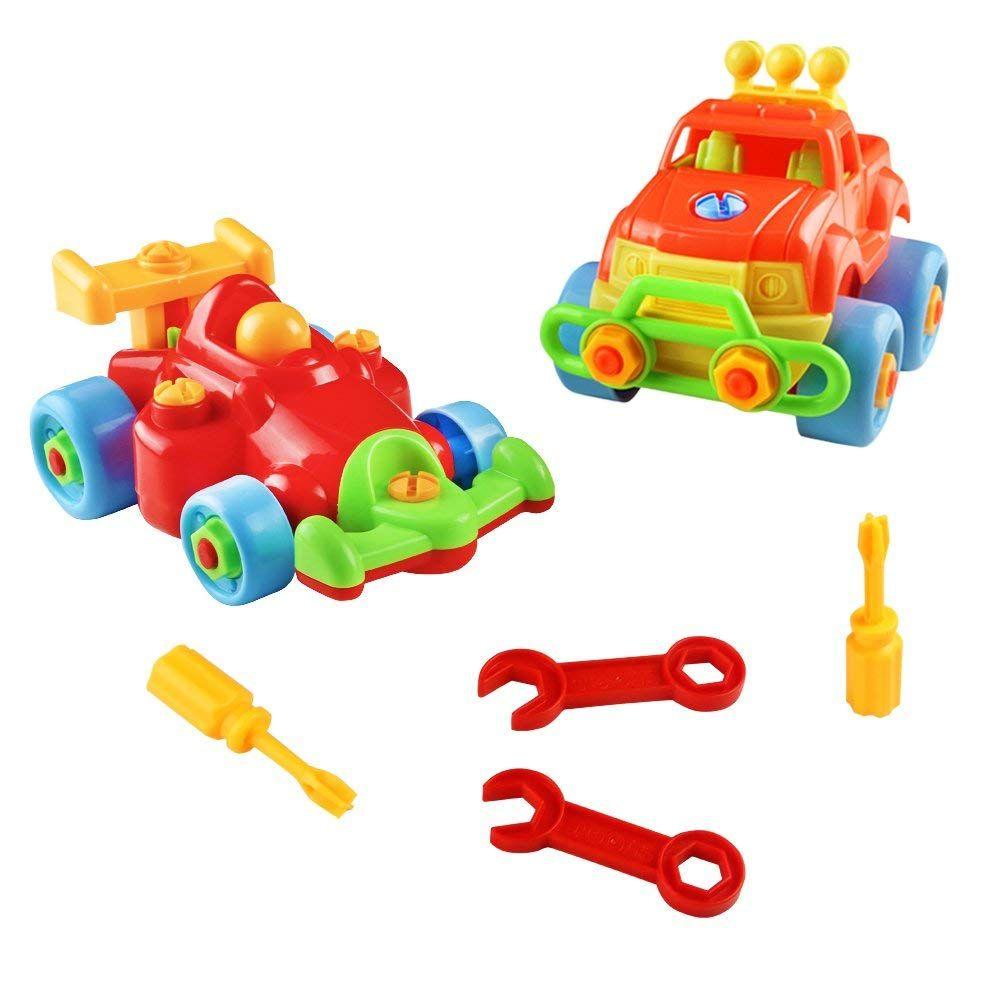 Fajiabao Vehicule Construction Jeu Assemblage Enfant Jouet destiné Jouet Pour Fille 4 5 Ans