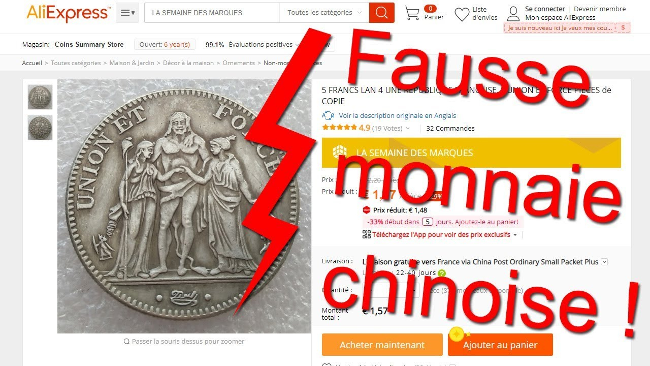 Fake Chinese Coins : How To Avoid Scams à Fausses Pieces Euros