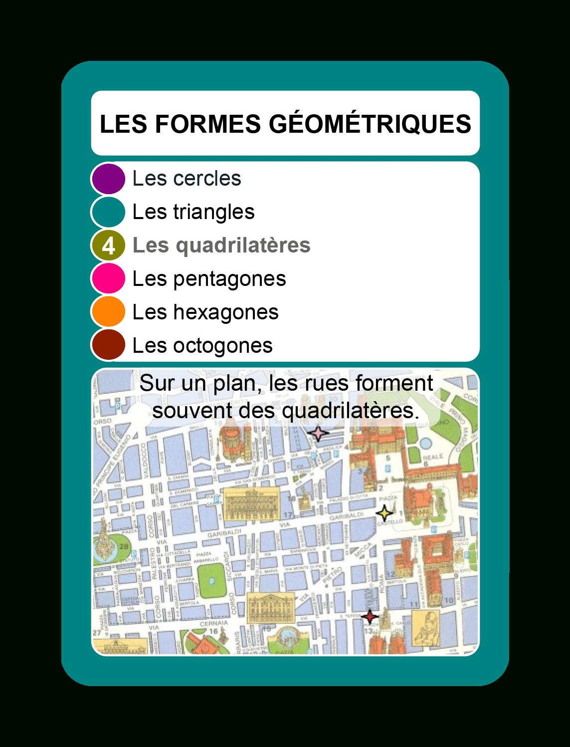 Famille Des Formes Géométriques à Les Formes Geometrique