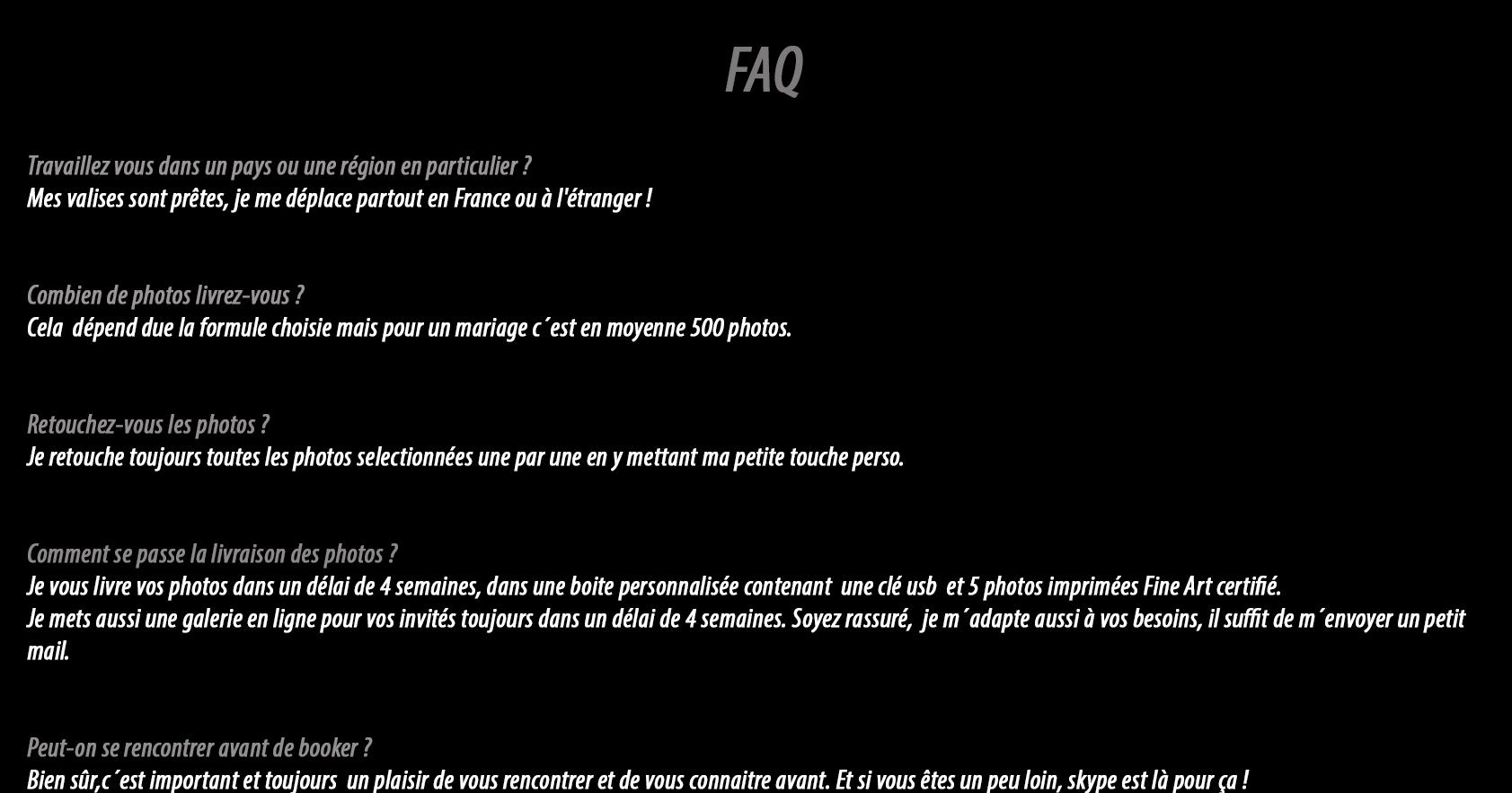 Faq – From Wedding With Love tout Combien De Region En France