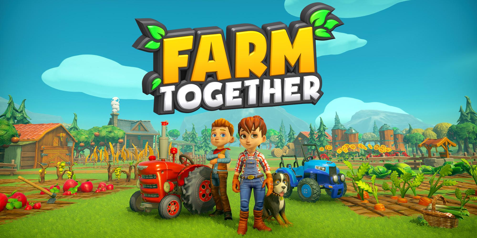 Farm Together | Jeux À Télécharger Sur Nintendo Switch à Jeux De Ferme Gratuit Avec Des Animaux