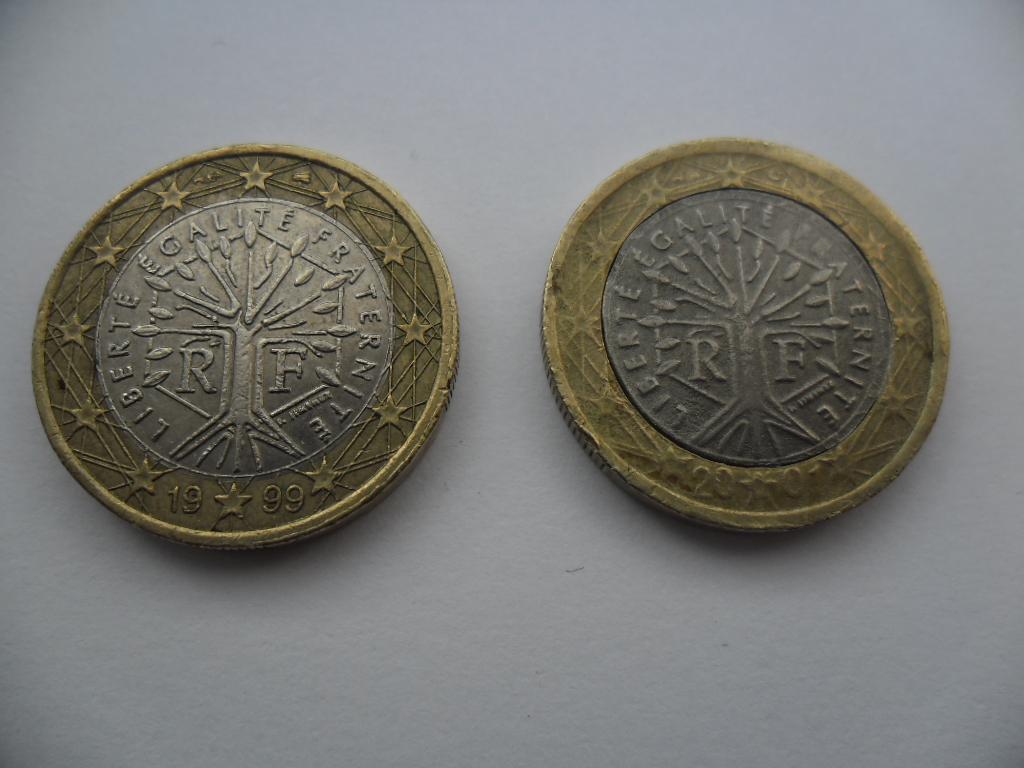 Fausse Pièce De 1 Euro France 2001 – Numista à Fausses Pieces Euros