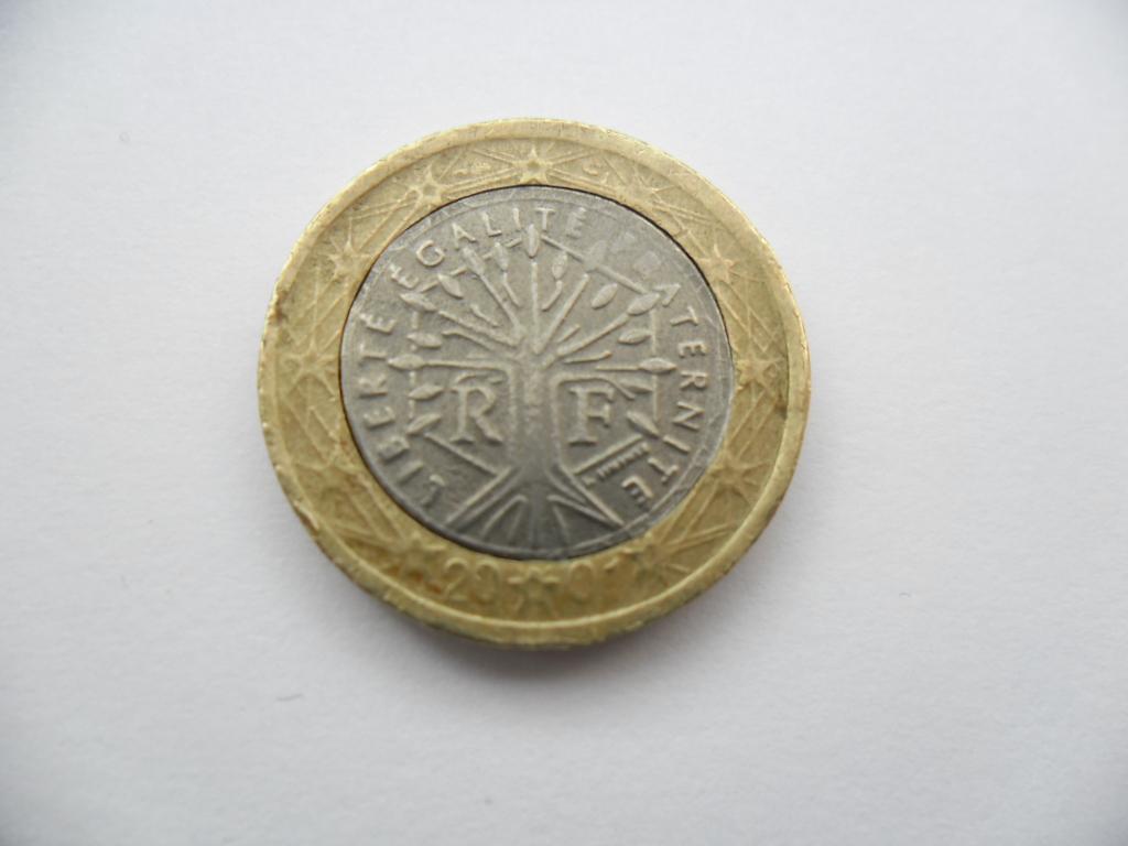 Fausse Pièce De 1 Euro France 2001 – Numista concernant Fausses Pieces Euros