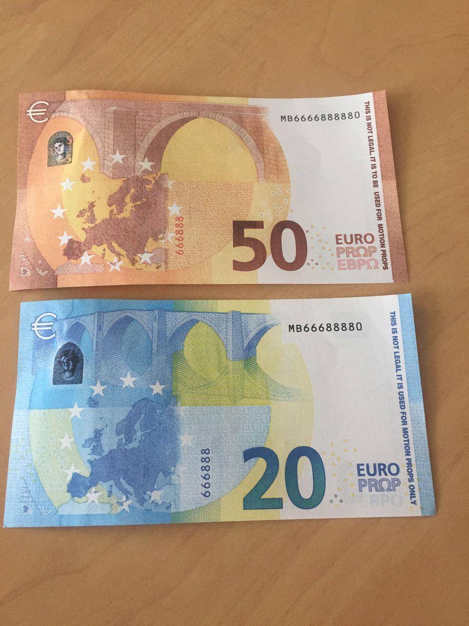 Faux Billets De 20 Et 50 Euros : Comment Les Reconnaître tout Billet Euro A Imprimer