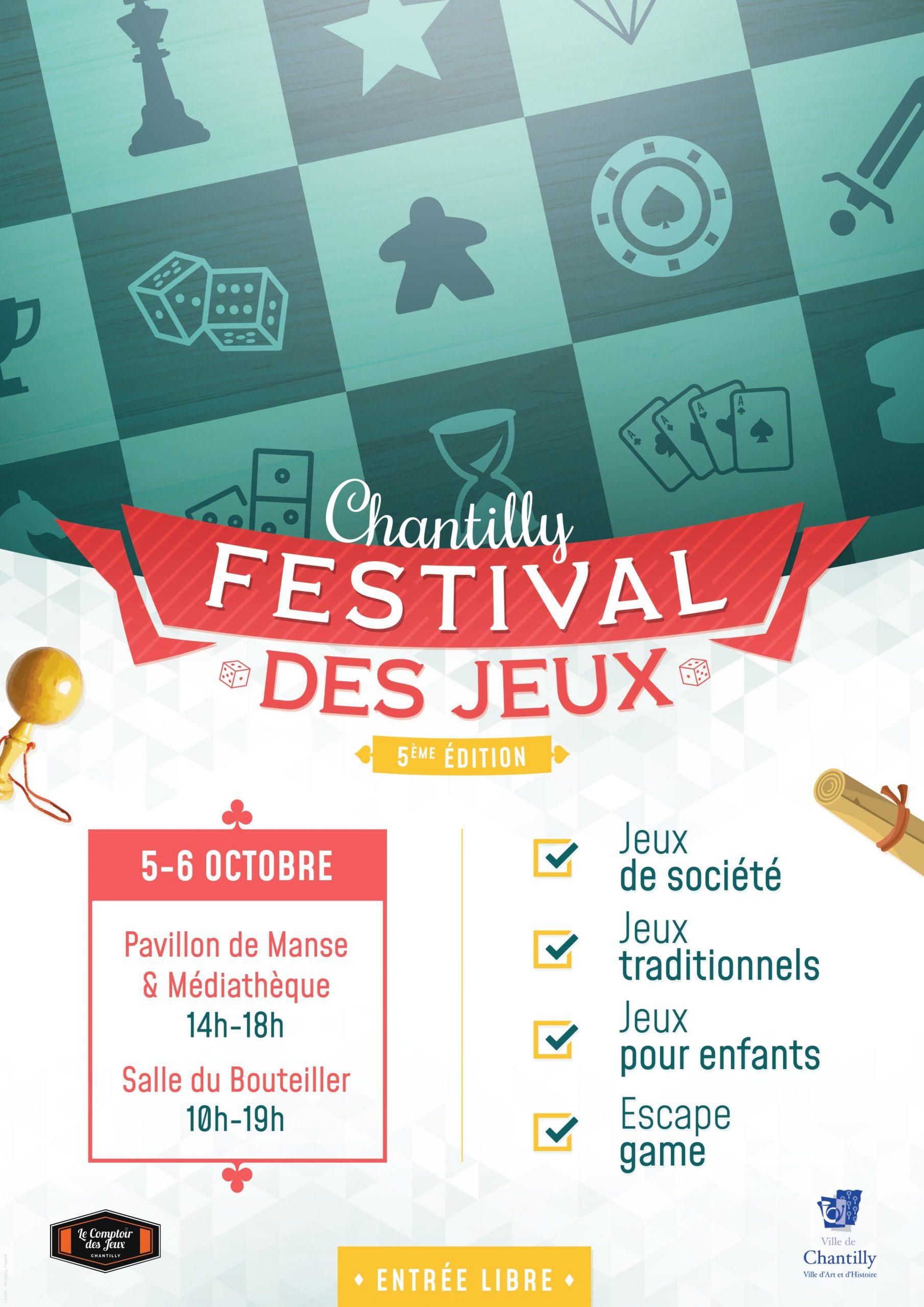 Festival Des Jeux De Chantilly concernant Jeux De Tout Gratuit