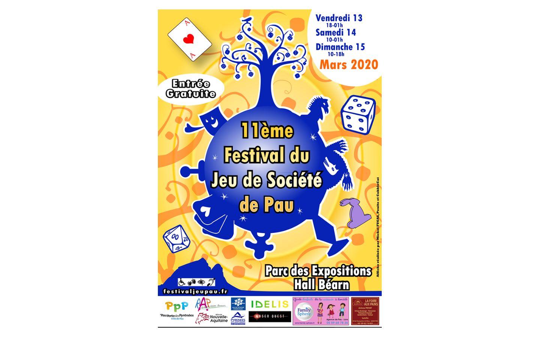 Festival Du Jeu De Societe De Pau pour Jeux Societe Gratuit