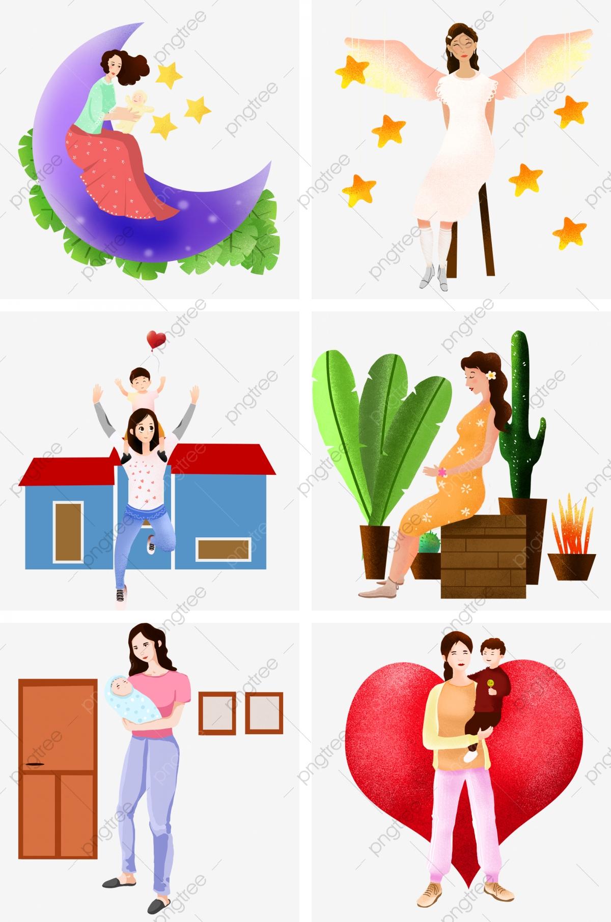 Fête Des Mères Personnage Enfant Puzzle, Enfant, Puzzle intérieur Puzzle Gratuit Enfant