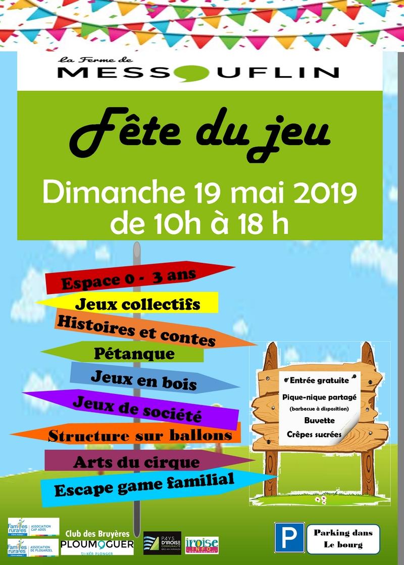 Fête Du Jeu À La Ferme De Messouflin - Récréatiloups Finistère ! intérieur Jeux Rigolos Gratuits