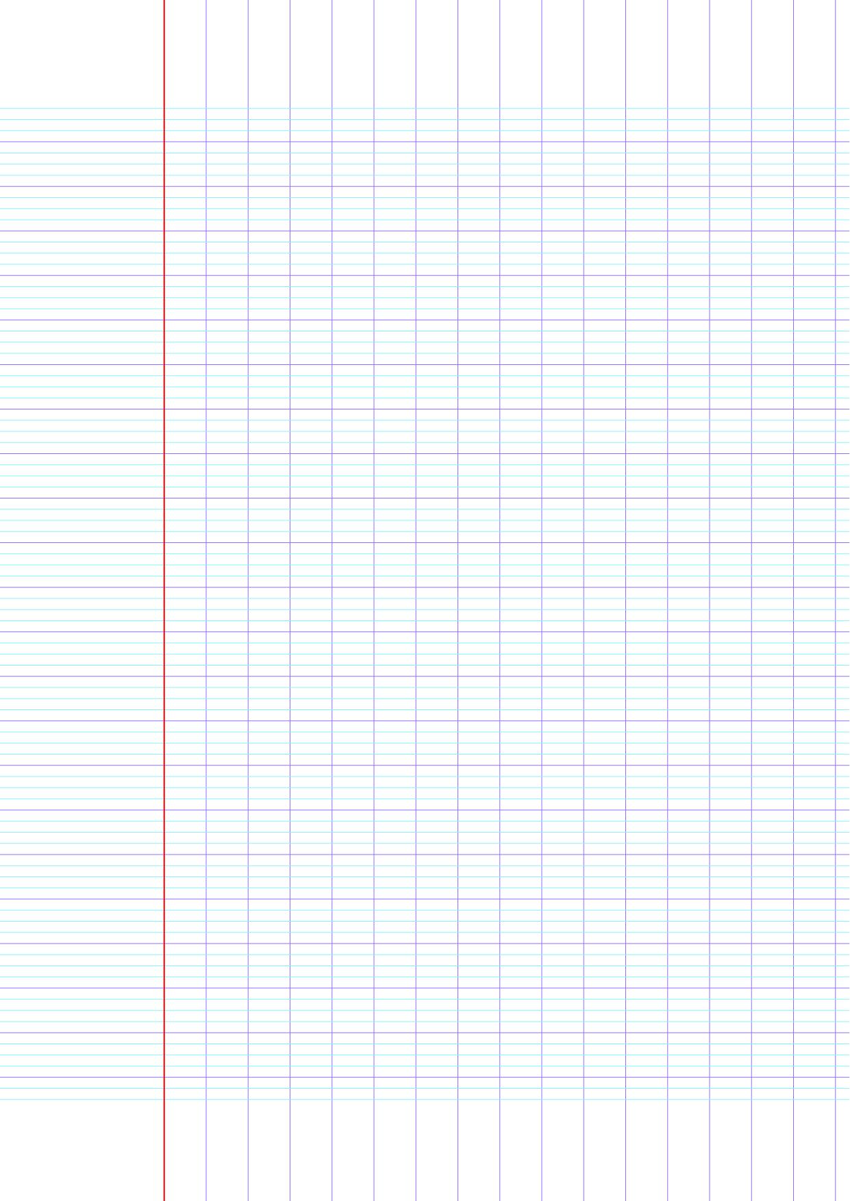 Feuille D'écriture Vierge À Imprimer   Exercices D'écriture avec Cahier D Écriture Cp À Imprimer