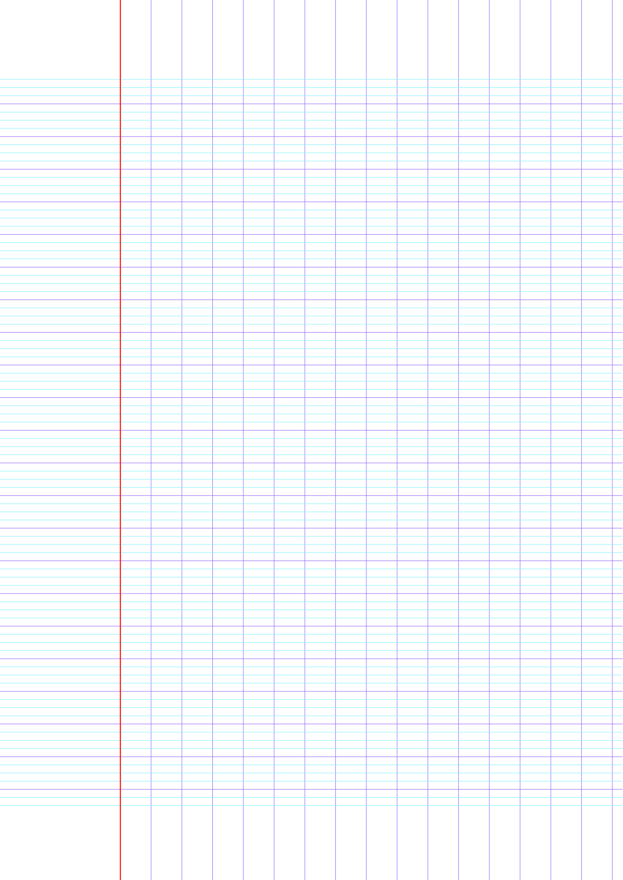 Feuille D'écriture Vierge À Imprimer   Exercices D'écriture concernant Feuille D Ecriture Maternelle À Imprimer