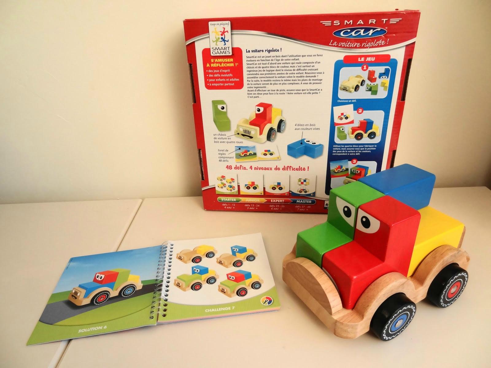 Fiche De Suivi De Smart Car, La Petite Voiture Multicolore destiné Jeux De Petite Voiture