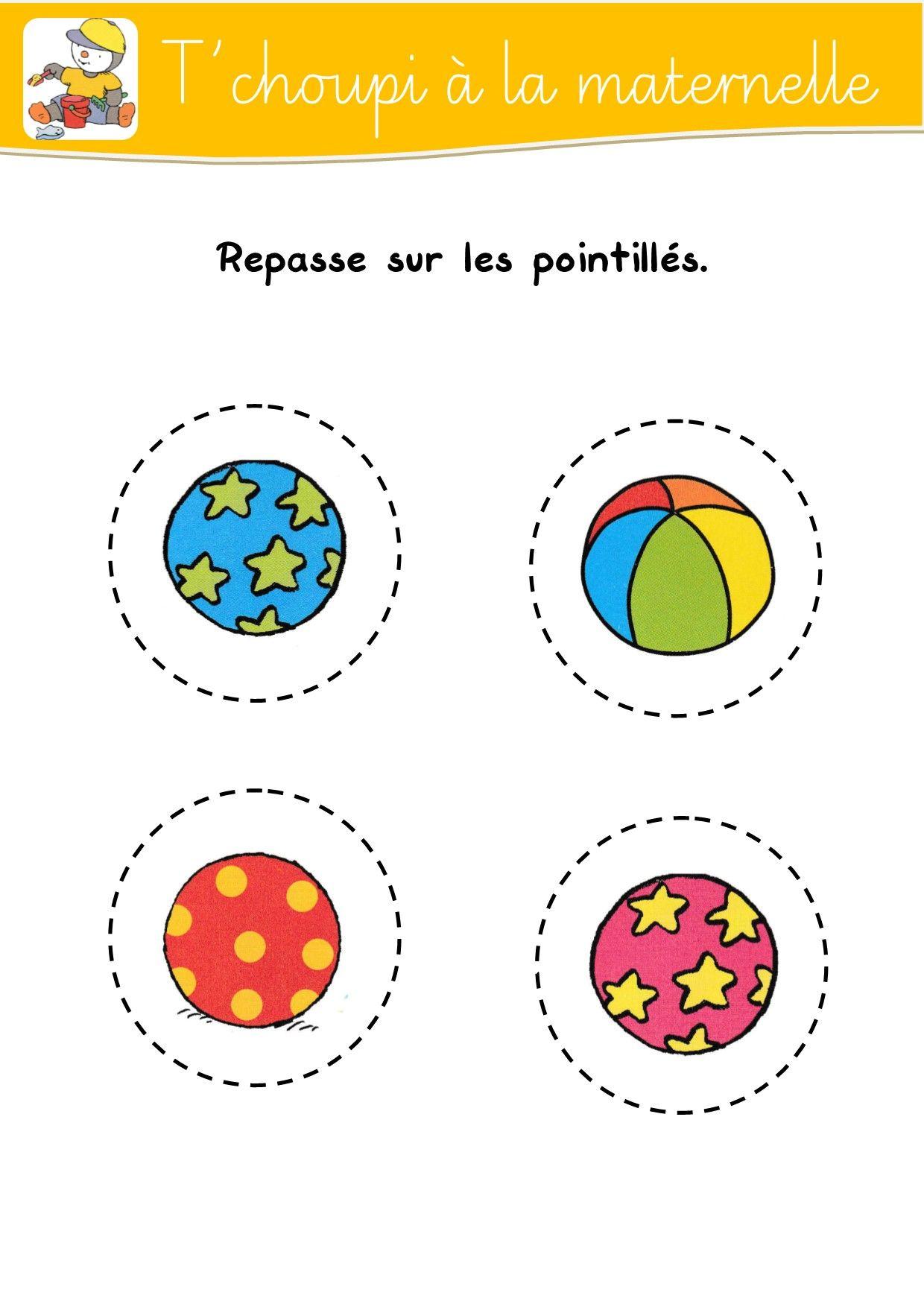 Fiches De T'choupi | Cahier De Vacances Maternelle, Choupi pour Cahier De Vacances Moyenne Section A Imprimer