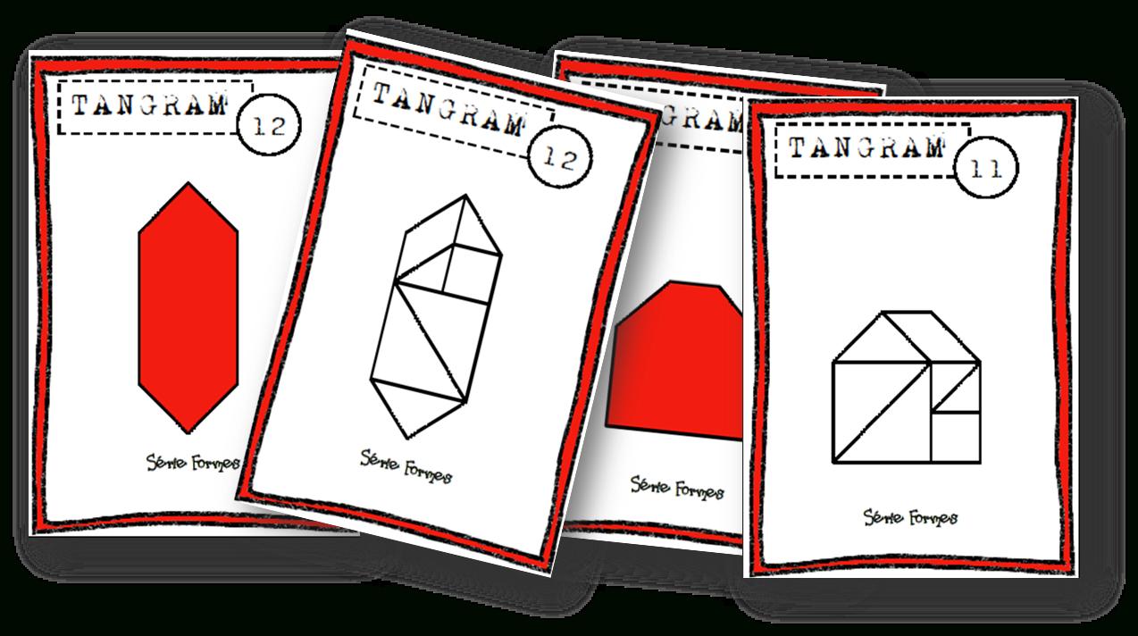 Fiches Modèles Tangram - Autonomie~ - Lin', Maikresse Malgré dedans Modèle Tangram À Imprimer