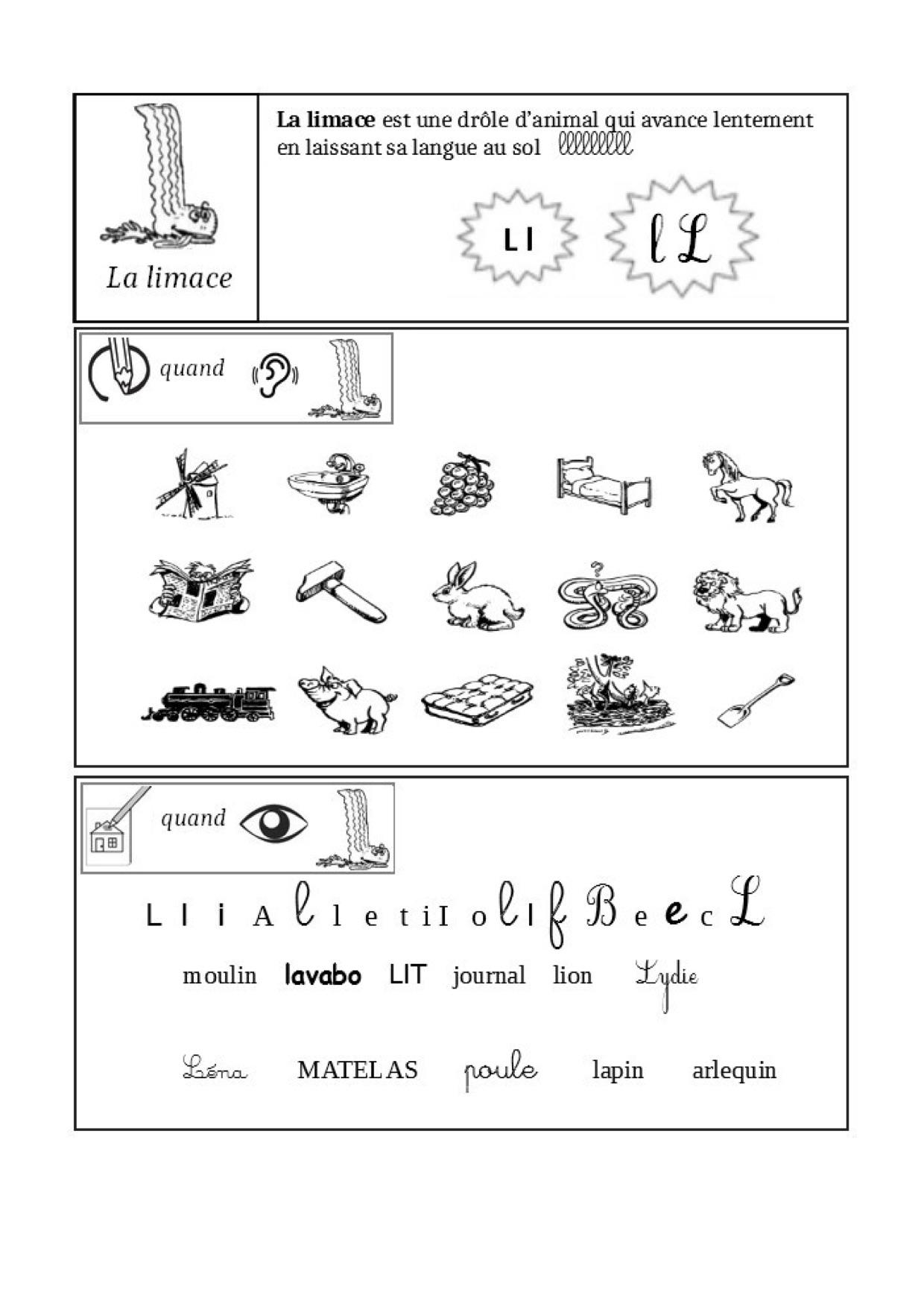 Fiches Sons Alpha - La Classe De Luccia ! tout Exercice Grande Section Maternelle Gratuit A Imprimer