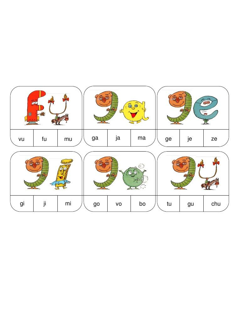 Fichier Pdf Syllabes F G.pdf | Alphas, Syllabes, Les Alphas avec Jeux De Lettres À Imprimer