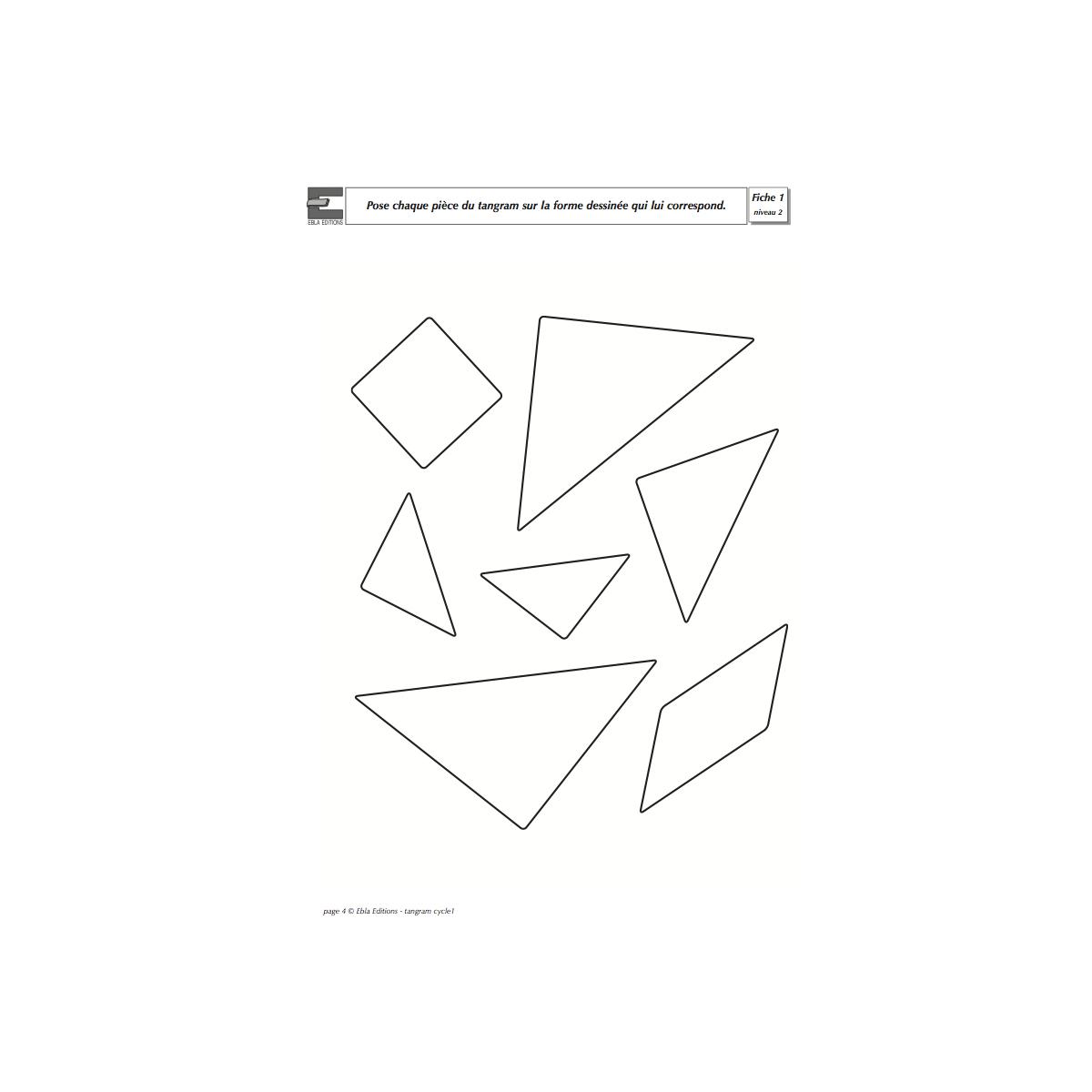 Fichier Tangram 3/5 Ans - Cycle 1 - Ebla Editions intérieur Tangram Cycle 3